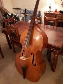 String Bass for sale. £650 - Offers invited. Includes flight case