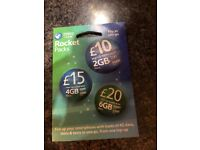 SIM card - has £120 on it selling for £80