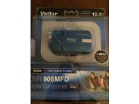 Vivitar DVR908M Full HD Camcorder - Blue Brand new in box