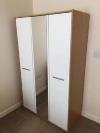 Gloss mirrored wardrobe