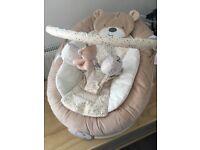 Teddys toy box chair