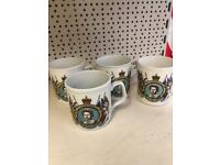 4 royal the sliver jubilee cups