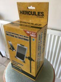 Hercules Tablet holder DG305B for musicians NEW UNUSED