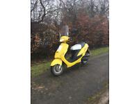 2014 50cc Moped - LOW MILES - 10 MONTHS MOT