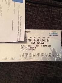 Still game platinum ticket