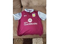 aston villa replica shirt