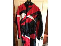 One piece bike watherproof suit