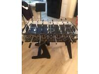 Kids snooker and football table