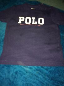 Baby boys branded top