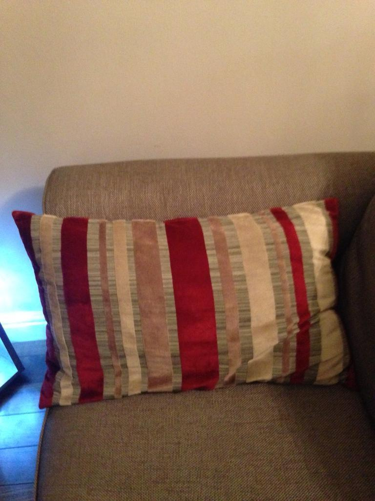 Marks & Spencer Stripped cushions
