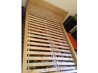 FREE for collection ASAP, IKEA double bed frame.