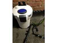 External filter for tropical marine cold reef water fish tank 100-400 lite