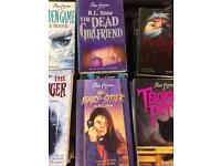 Point horror books job lot x45