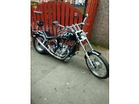 Sold pending collection Thursday Ajs eos 125cc 2007 chopper bike