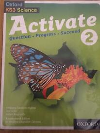Oxford KS3 Science Activate 2 Revision Book