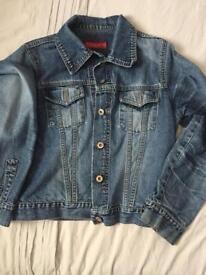 Denim jacket. Woman's medium 12 river island