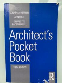 Architect pocket book