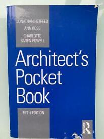 Architect pocket book