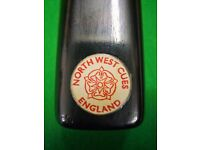 North West Early Red Glue 3/4 Snooker/Pool Cue