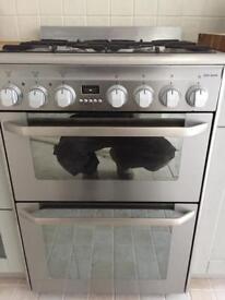 John Lewis dual fuel cooker.