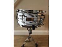 Beech Custom snare drum 14x6.5