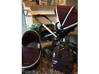 Silver cross surf pushchair & carrycot and more