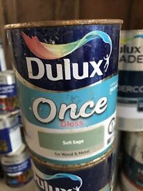 Dulux paint for wood and metal