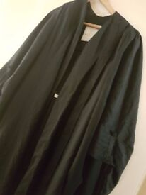 Barrister's Gown. Stanley lea original. Princetta fabric. 5'7- 6 foot. Good condition £100.