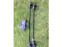 Thule Rapid System 757 foot pack and bar