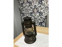 Paraffin storm lamp