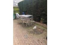 AEL commercial tables and chairs job lot