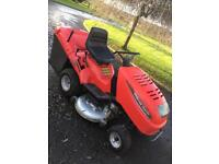 Garden care ride on lawnmower