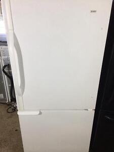 Kenmore White Fridge With Bottom Freezer, FREE WARRANTY