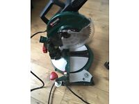 Parkside mitre saw ...hardly used