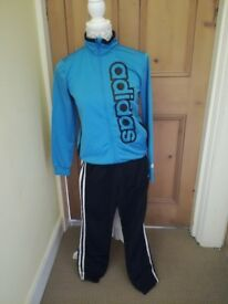 Boys blue & black Adidas tracksuit £10