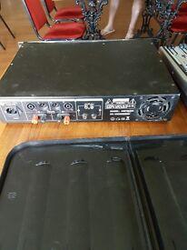 DJ MIXER AND AMP