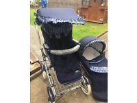 Bebecar 3-in-1 pram and pushchair with accessories