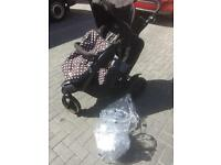 Graco double (in-line) buggy