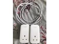TP-LINK AV1200 Powerline Adapter Kit - Twin Pack
