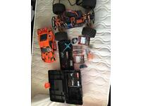 HPI Bullet ST Flux RTR with loads of spares and upgrades RC car