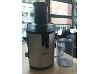 Juicer - Powerful Philips HR1861 Aluminium Whole Fruit & Veg Juicer