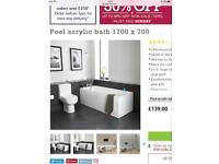 Bath Store Pool Bath side and end panel