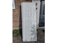 6 X brand-new 4 panel easy fit interior doors ( pre drilled for hinges and handles )