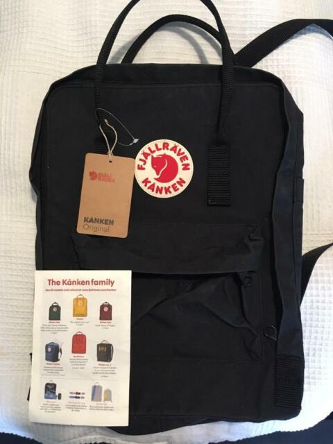 delicate colors super cheap quality Fjallraven Kanken, black classic   in Westminster, London   Gumtree
