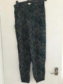 FatFace loose trousers size 10