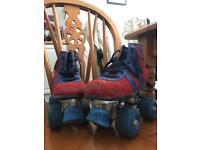 Junior retro roller skates size 13