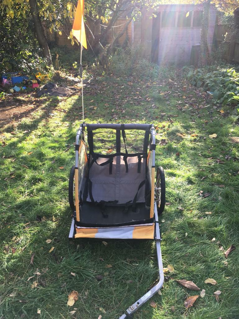 Halfords Bicycle Trailer: double buggy