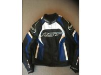RST Tractech Evo 2 Leather Jacket Men UK 48