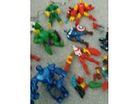 10 Marvel mashers plus other spare parts .