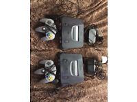 Nintendo console N64 Gamecube Gameboy color